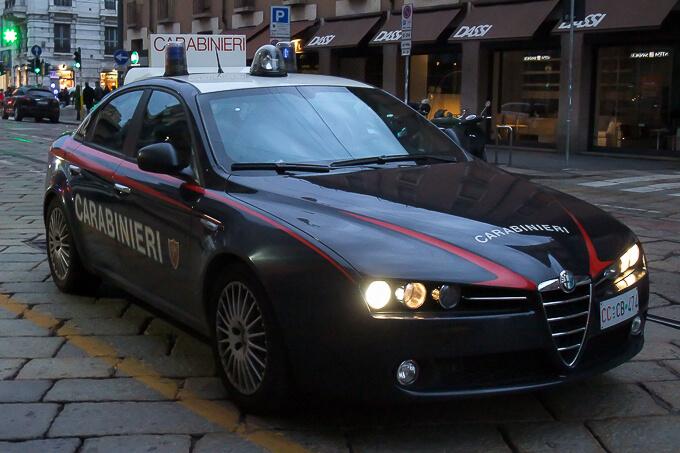 ミラノ・スナップ(ミラノの警察車両)
