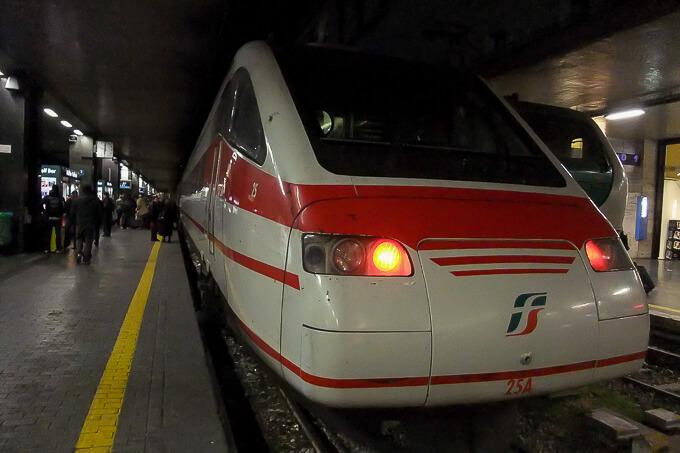イタリア国鉄ETR460電車