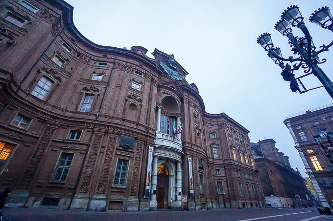 カリニャーノ宮(国立イタリア統一運動博物館)