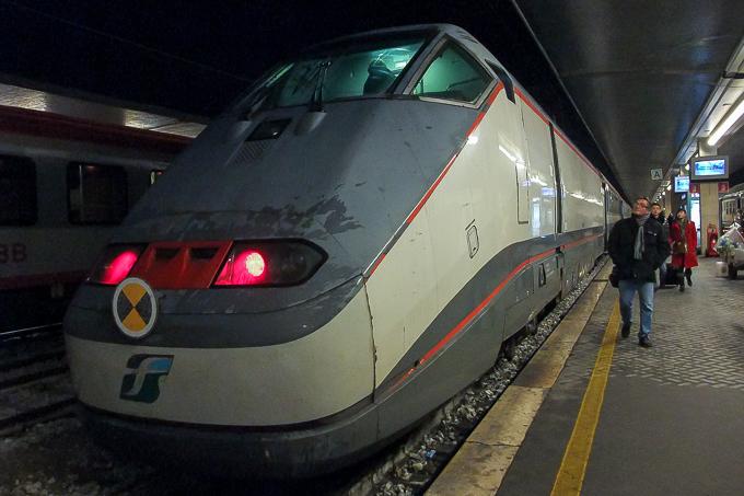 イタリア国鉄ETR500電車