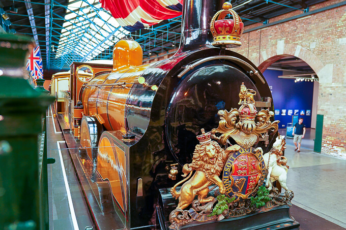 イギリス国立鉄道博物館(グラッドストーン号)